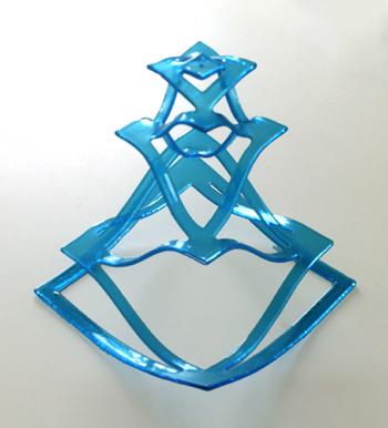מגדל כחול - פרט מתוך סדרה